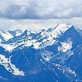 Swiss Alps by Elizabeth-Anne King
