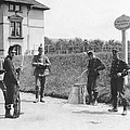 Swiss And German Border Guards by Underwood Archives