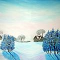 Swiss Opus Blue Christmas by Reggie Hart