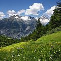 Switzerland Bietschhorn by Annie Snel