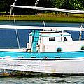 Swordfish Boat Pano by David Lee Thompson