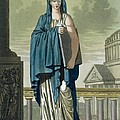 Sybil, Illustration From Lantique Rome by Jacques Grasset de Saint-Sauveur