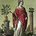 Sybil Of Eritrea With Her Insignia, 1796 by Jacques Grasset de Saint-Sauveur