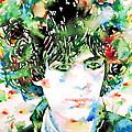 Syd Barrett Watercolor Portrait.1 by Fabrizio Cassetta