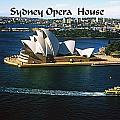 Sydney Australia by Gary Wonning