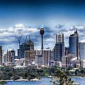 Sydney Australia Skyline by Douglas Barnard