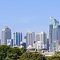 Sydney City Skyline by David Hill
