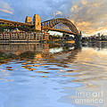 Sydney Harbour Bridge Australia Spectacular Early Morning Light by Colin and Linda McKie