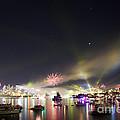 Sydney Navy Fleet Fireworks by Miroslava Jurcik