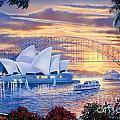 Sydney Opera House by Steve Crisp