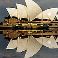 Sydney Opera House With Clouds by Sheila Smart Fine Art Photography