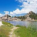 Sylvan Lake Trail In Custer State Park-south Dakota by Ruth Hager