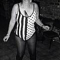 Sylver Short Halloween Tucson Arizona 1990 Black And White by David Lee Guss
