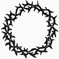 Symbol Crown Of Thorns by Granger