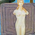 Symbol Of Fertility And Goddess Aphrodite by Augusta Stylianou