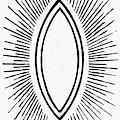 Symbol Vesica Piscis by Granger