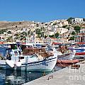 Symi Island Greece by David Fowler