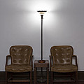Symmetrical Waiting Room by Art Whitton