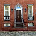 Symmetry In Brick by Mary Haber