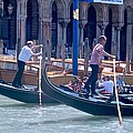 Syncronized Gondoliers by Eric Tressler