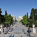 Syntagma Square In Athens by George Atsametakis