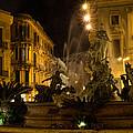 Syracuse - Diana Fountain  by Georgia Mizuleva
