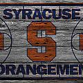 Syracuse Orangemen by Joe Hamilton
