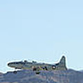 T-33 Shooting Star Flyby Nellis by Carl Deaville