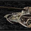 T-54 Soviet Tank Bk-bg by Weston Westmoreland