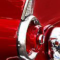 T-bird Tail Light by Jerry Fornarotto