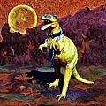 T-rex Escapes by Sandra Selle Rodriguez
