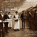The Red Cross And St. John's Ambulance Brigade During Ww1 England by The Keasbury-Gordon Photograph Archive