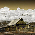 T.a. Moulton Barn In The Grand Tetons by Randall Nyhof