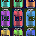 Tab Ode To Andy Warhol Black by Tony Rubino