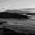 Table Mountain Black And White 2 by Charl Bruwer
