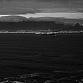 Table Mountain Black And White 3 by Charl Bruwer