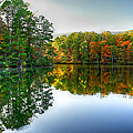 Table Rock - Reflection by Douglas Berry