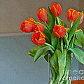 Table Top Tulips by Laura Mace Rand