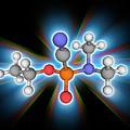 Tabun Chemical Compound Molecule by Laguna Design/science Photo Library