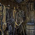Tack Room with Barrel