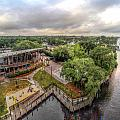 Tacky Jacks Overhead Looking West by Michael Thomas