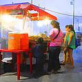 Taco Stand San Felipe by Hugh Smith