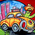 Taco Taxi by Bruce Bain