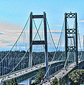 Tacoma Narrows Bridge 51 by Ron Roberts