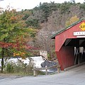 Taftsville Covered Bridge Vermont by Barbara McDevitt