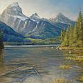 Taggart Lake Shallows by Gary Huber
