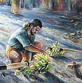 Tahitian Banana Carryer by Miki De Goodaboom
