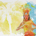 Tahitian Dancer by Greg Collins