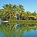 Tahitian Lagoon by Gigi Ebert