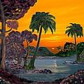 Tahitian Sunset by Glenn Holbrook